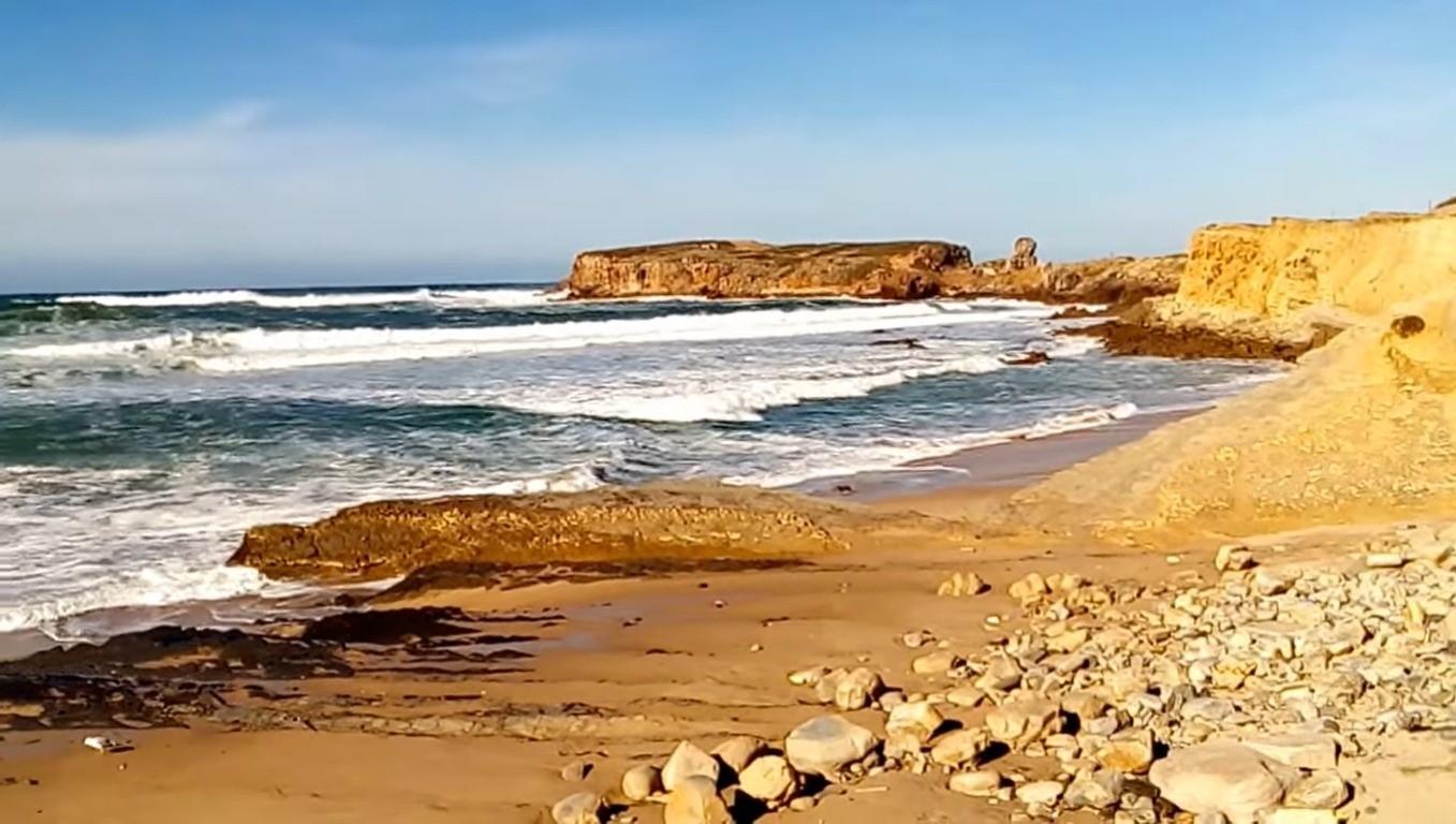 Praia do Porto da Areia Norte, Peniche